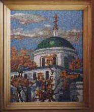 Картина из бисера Храм большого Вознесения