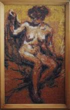 Картина из бисера Обнаженная