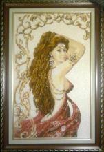 Картина из бисера Лейла